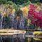 Fall on Left Foot Lake, Crivitz, Wisconsin