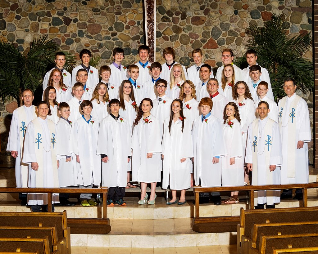 Confirmation Class 2014