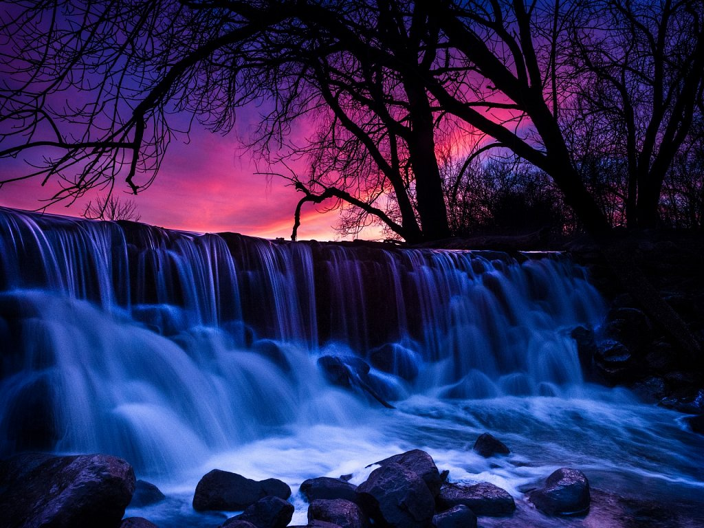 Waterfall at Evening